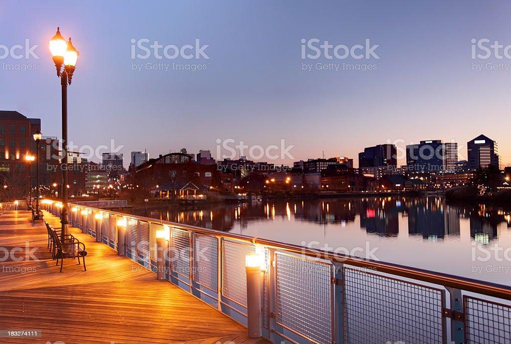 Wilmington Waterfront stock photo