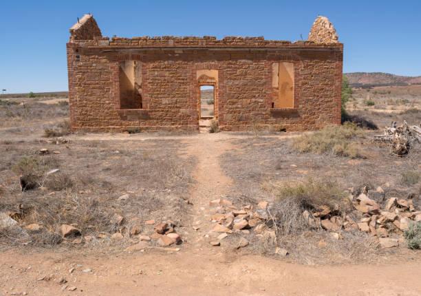 wilson-station master residence, flinders ranges - own wilson stock-fotos und bilder