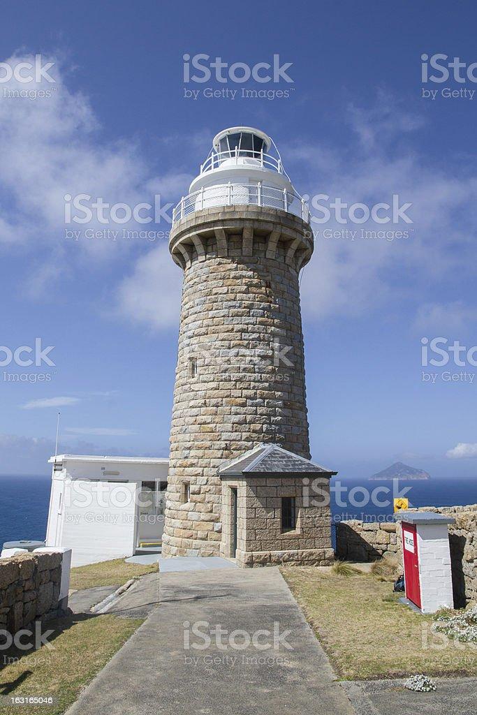 Wilsons Promontory Lighthouse stock photo