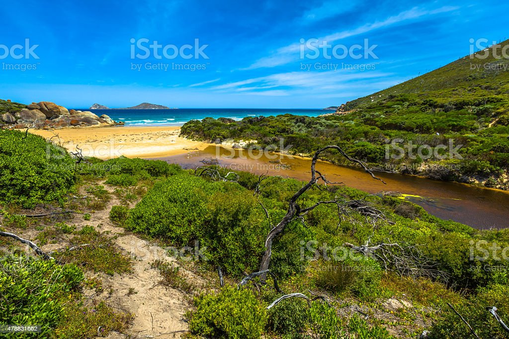 Wilsons Promontory National Park stock photo