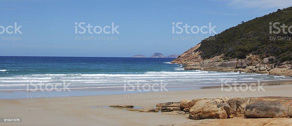 Wilson's Promontory Panorama 2 stock photo