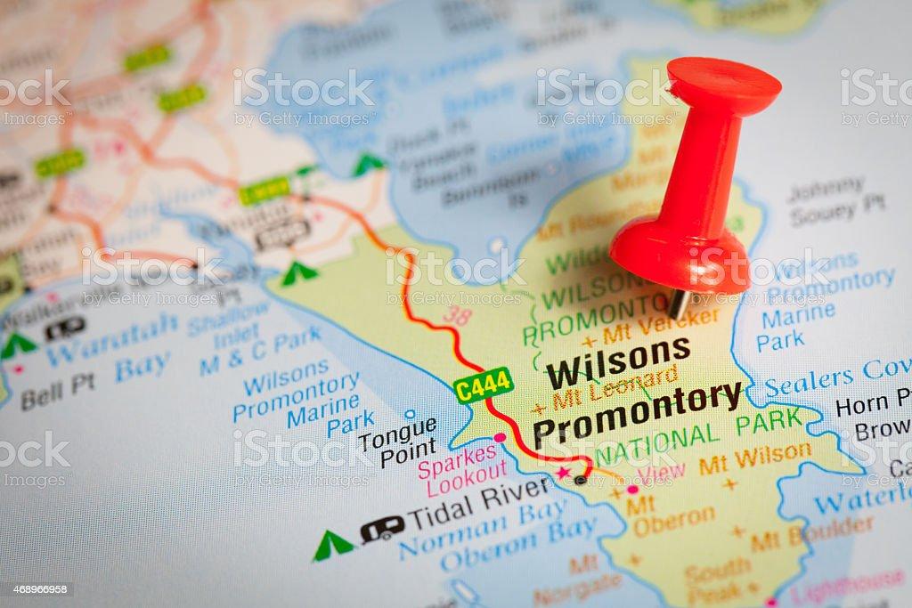 Wilsons Promontory stock photo