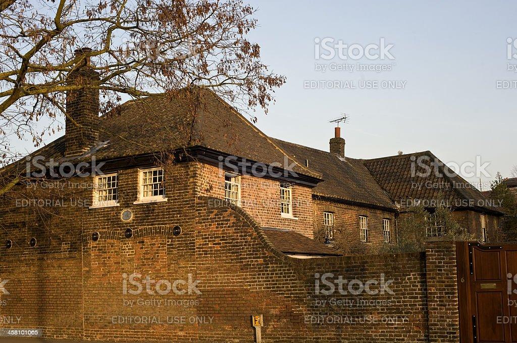 Wimbledon Common Historic Home stock photo