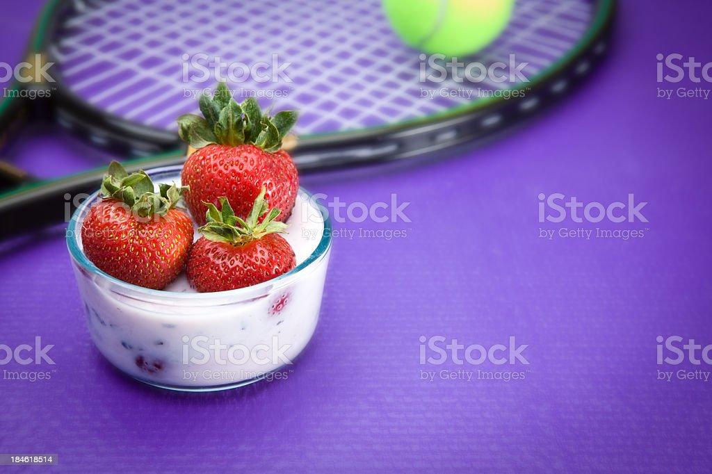 Wimbledon Concept stock photo