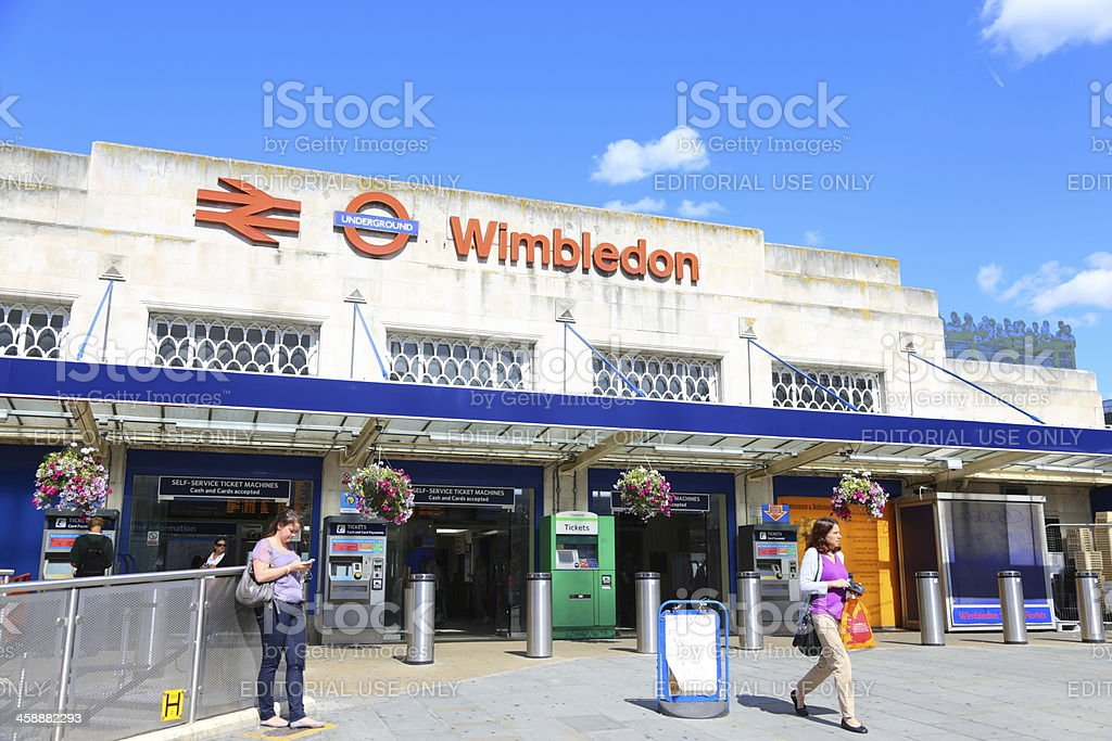 Bahnhof Wimbledon – Foto