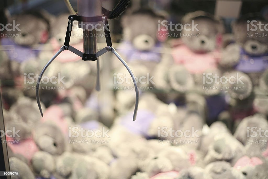 Win A Teddy royalty-free stock photo