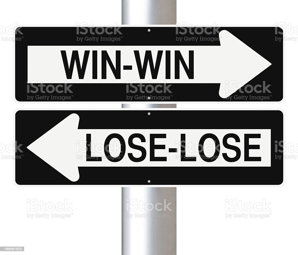 Win or Lose stock photo