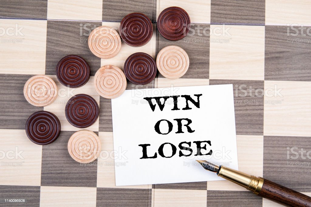 Win Or Lose Wooden Checkers Dice On The Playground Stock Photo Download Image Now Istock,Moon Flowers Tattoo