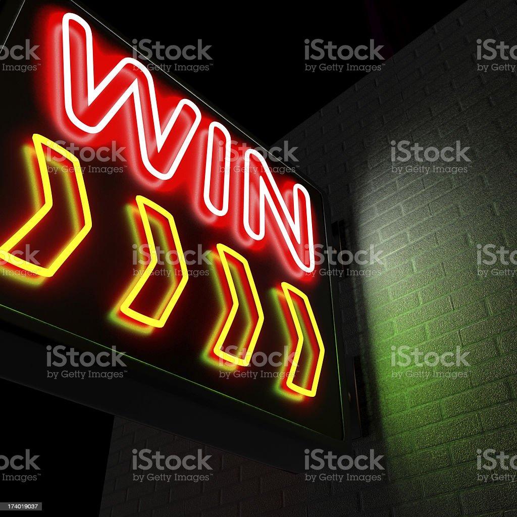 Win royalty-free stock photo