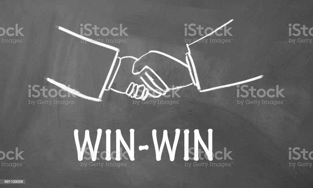 Win Win Sign Stock Photo - Download Image Now - iStock