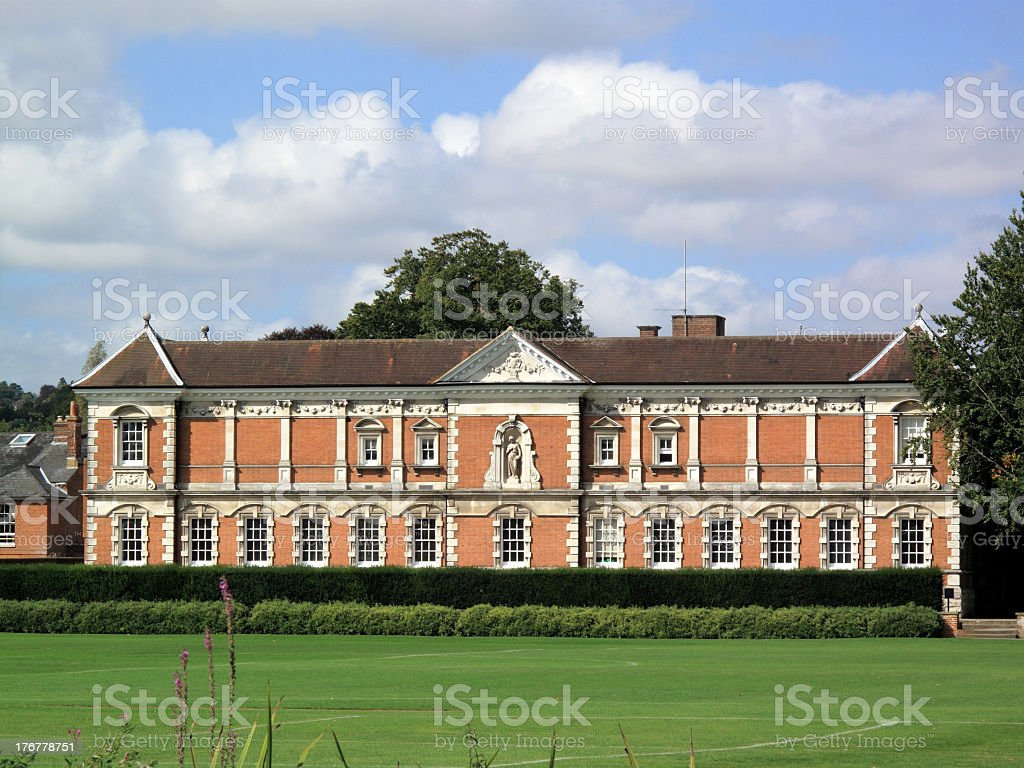 Winchester College stock photo