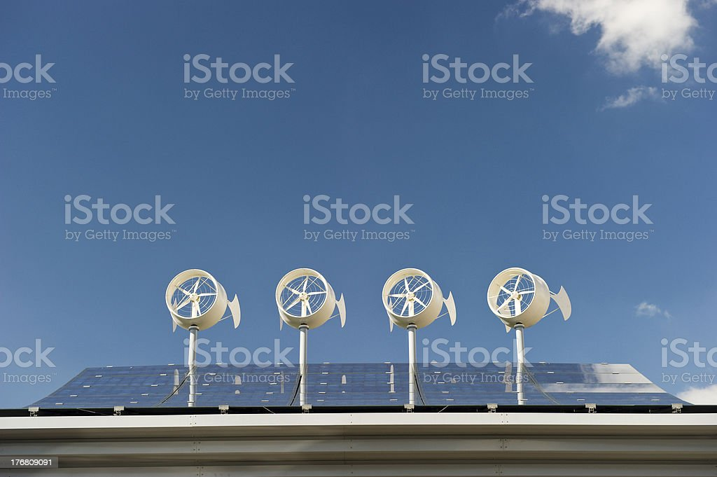 wind and sun royalty-free stock photo