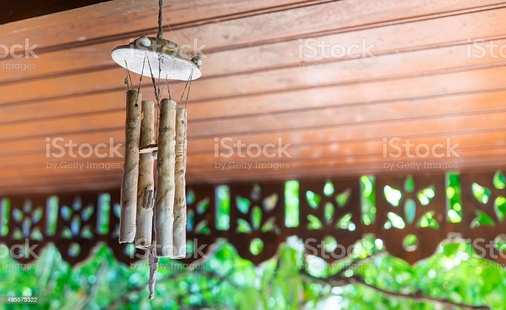 Wind Bell Hanging Oranament stock photo
