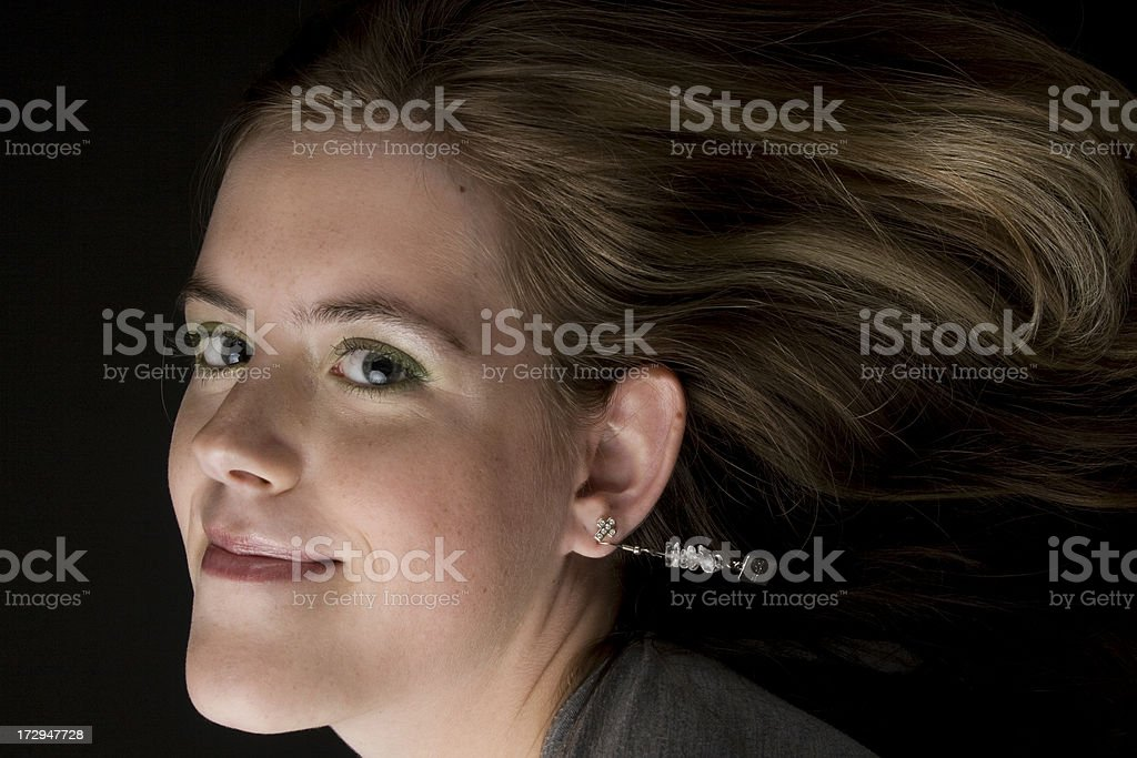 Wind blowing like a hurricane? royalty-free stock photo
