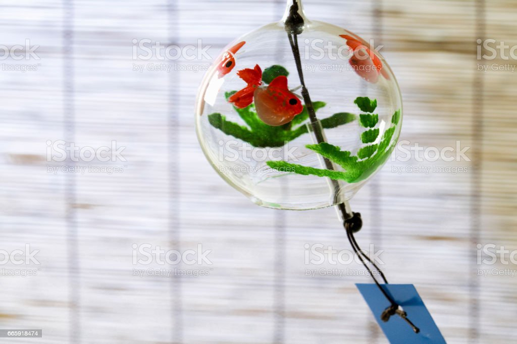Wind chimes foto stock royalty-free