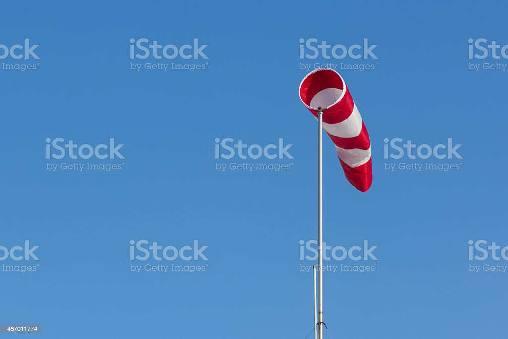 Wind cone stock photo