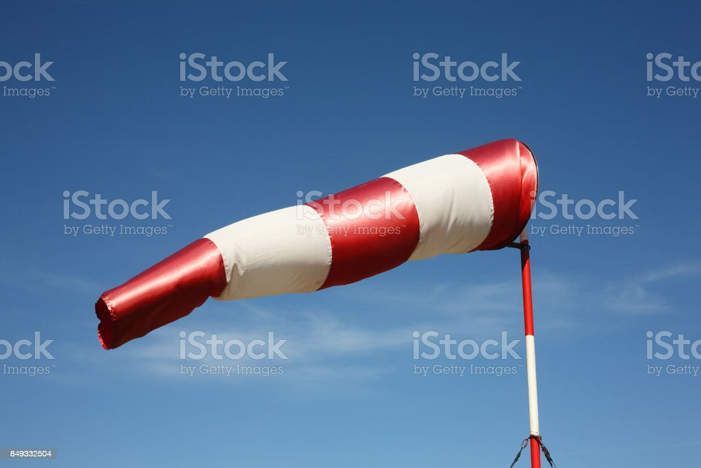 Wind direction indicator - foto stock