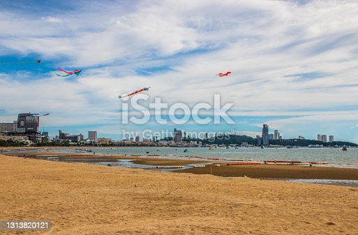 istock Wind Dragons at a Beach in Thailand Southeast Asia 1313820121