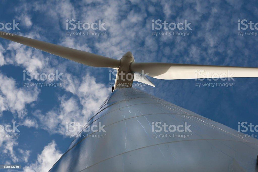 Wind energy 2... stock photo