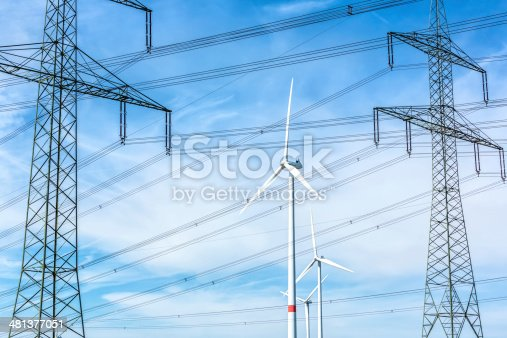 Wind energy and High Voltage Towers