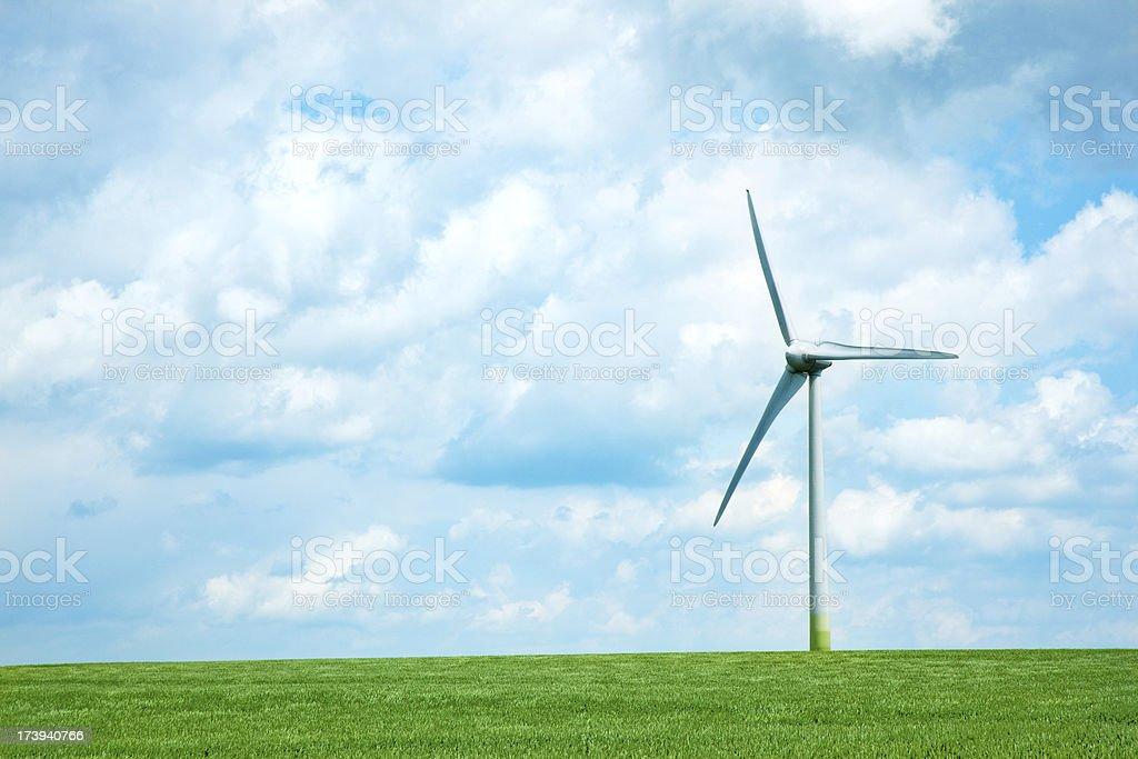 Wind Energy royalty-free stock photo