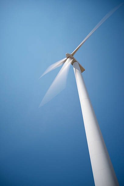 wind energy - perpetual motion stock photos and pictures