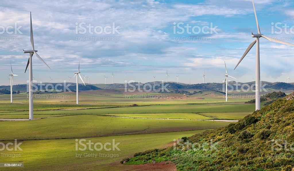 Wind energy.. stock photo