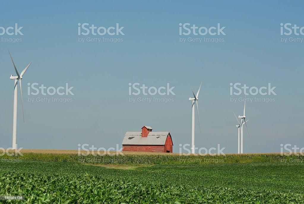 Wind Farm 11 stock photo