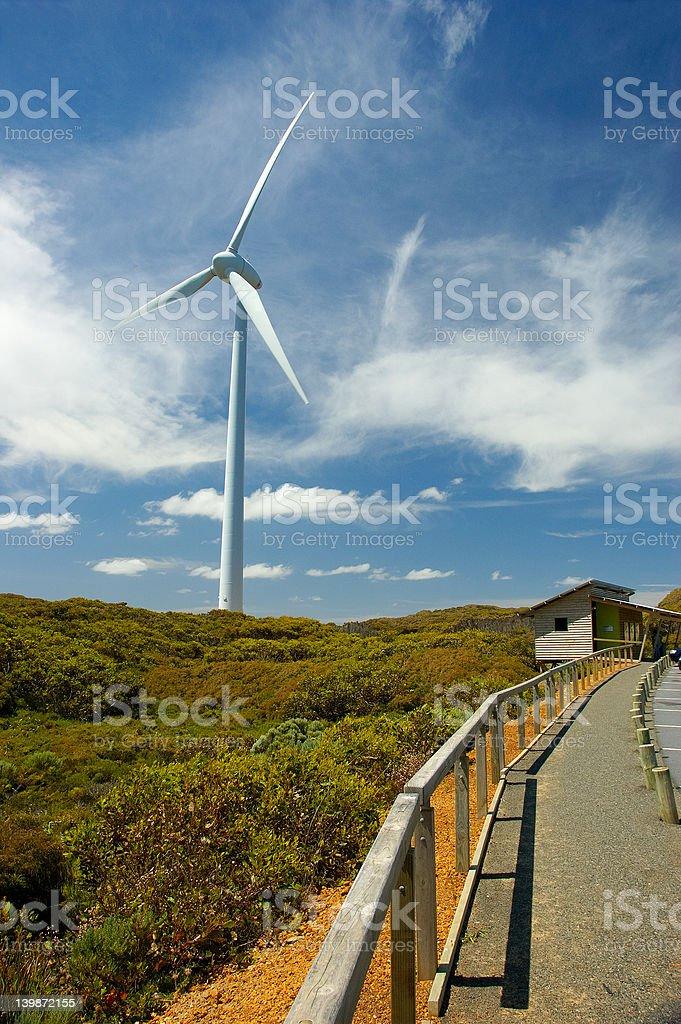 Wind farm, Albany, Western Australia stock photo