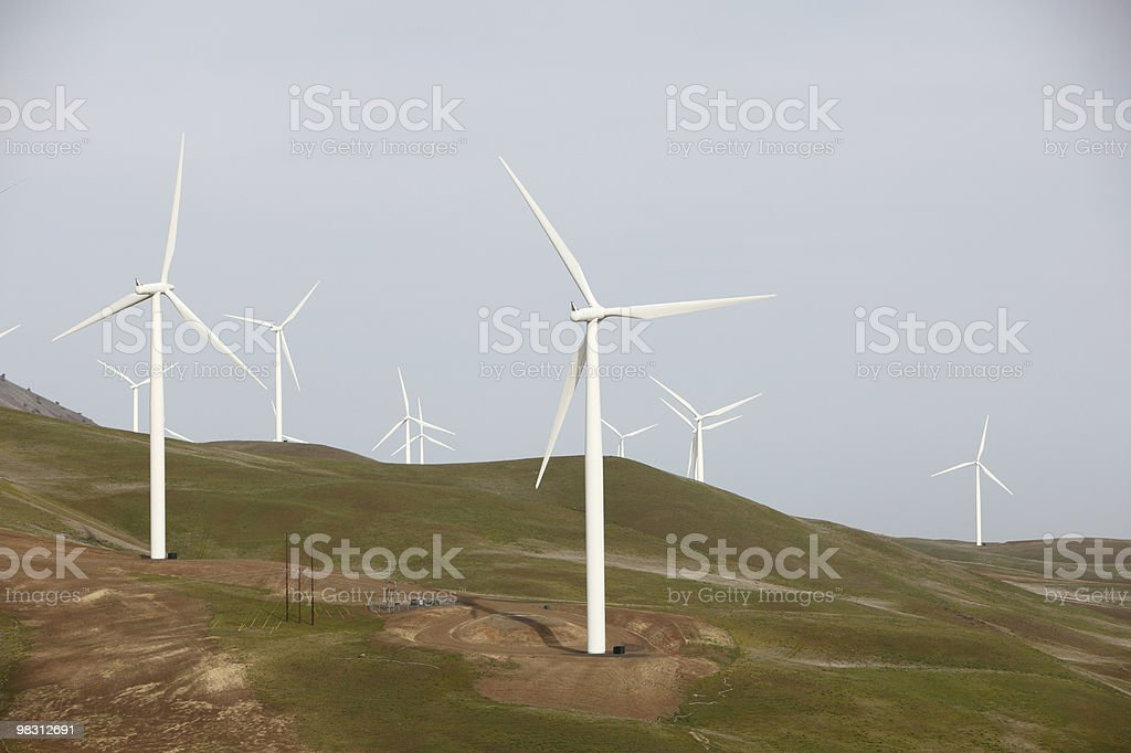 Wind farm royalty-free stock photo
