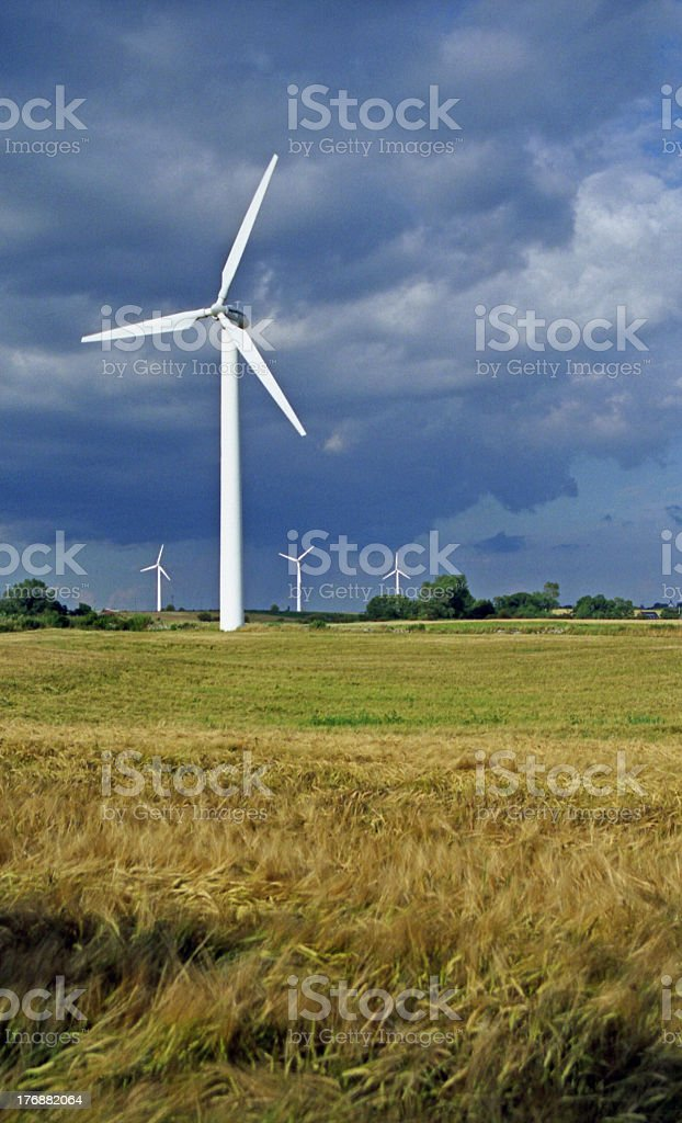 wind force wheel royalty-free stock photo