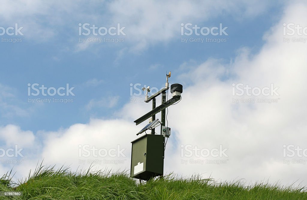 Wind Gage royalty-free stock photo