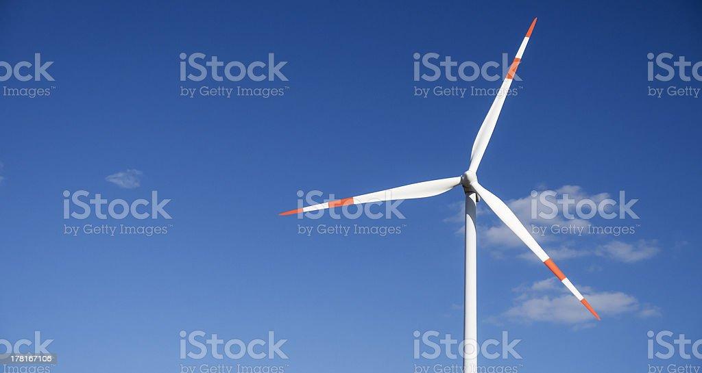 wind generator copyspace royalty-free stock photo