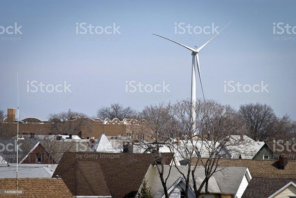 Wind Mill, Bayonne stock photo