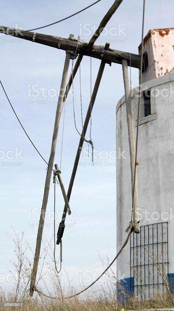 Wind Mill In Bad Shape stok fotoğrafı