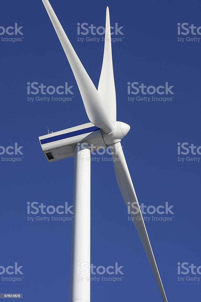 wind mill power generator royalty-free stock photo