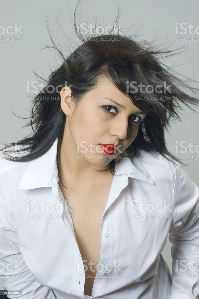 Wind (Femme Fatale) royalty-free stock photo