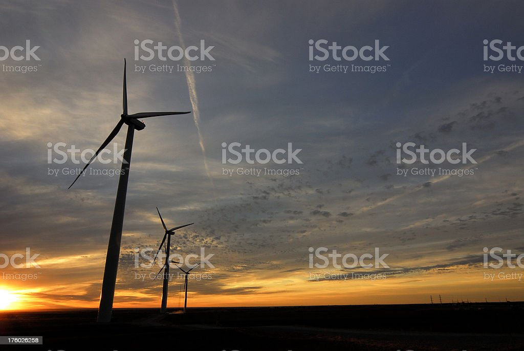 Wind Power 3 royalty-free stock photo