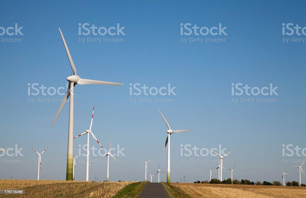 wind power, alternative energy royalty-free stock photo