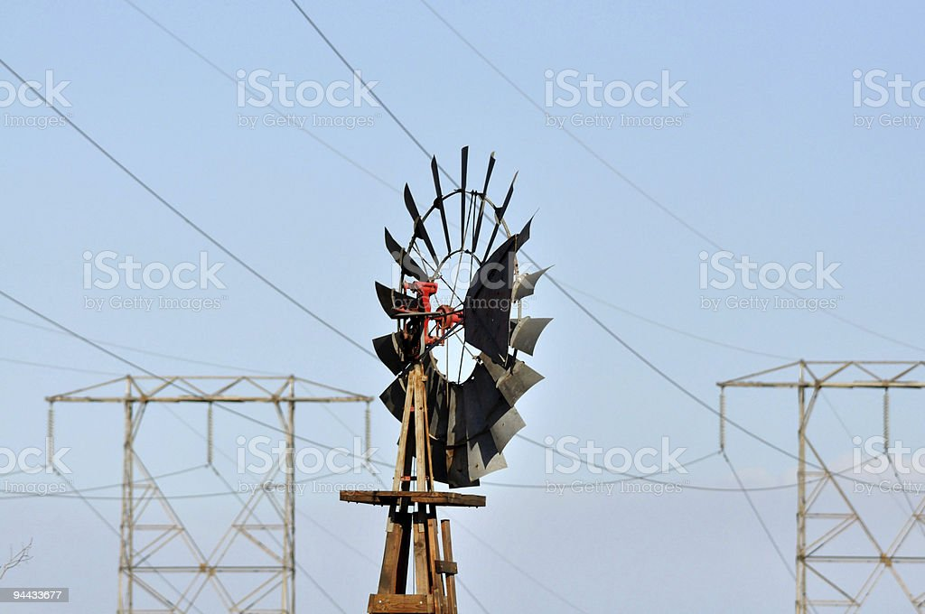 Wind Power - Electricity royalty-free stock photo