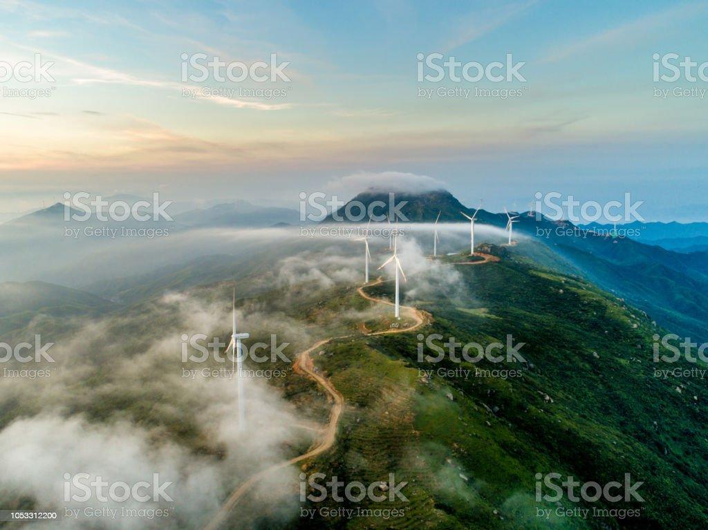 風力發電 - 免版稅中國圖庫照片
