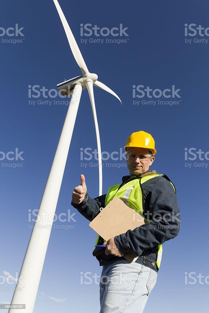 Wind Power Okay royalty-free stock photo