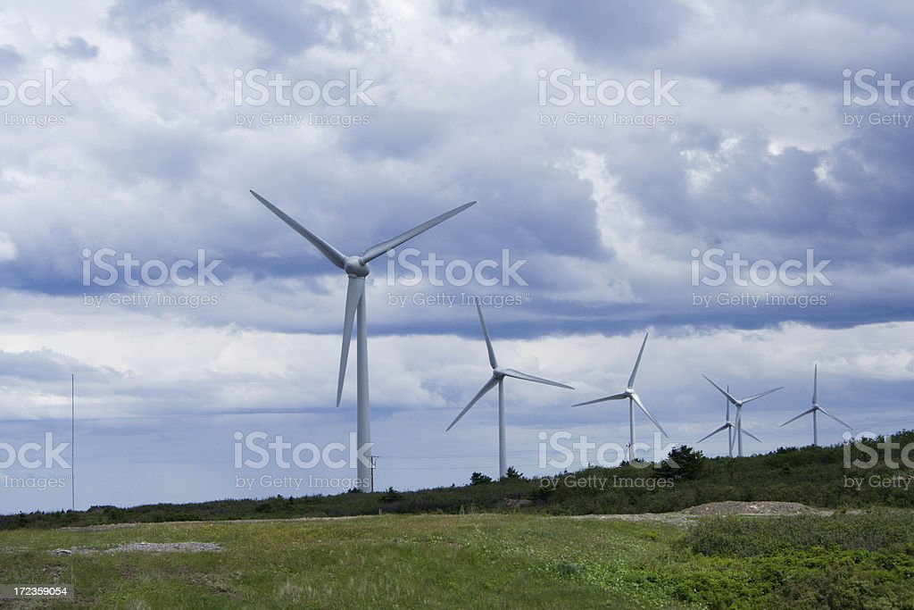 Wind Power royalty-free stock photo