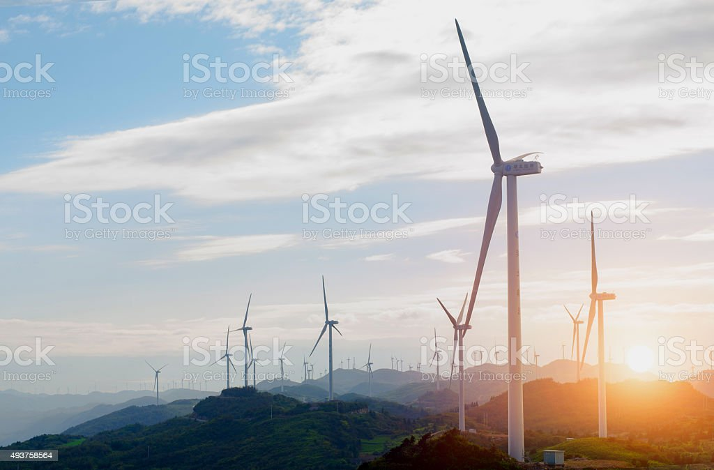 wind power - Royalty-free 2015 Stock Photo