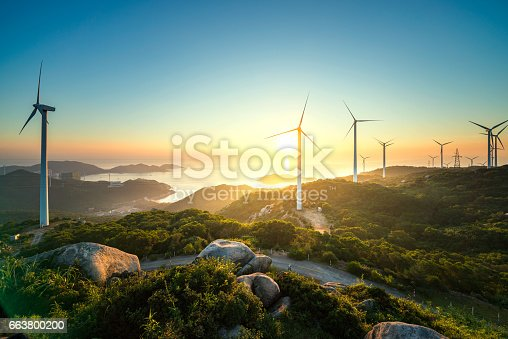 Wind power in the high mountains