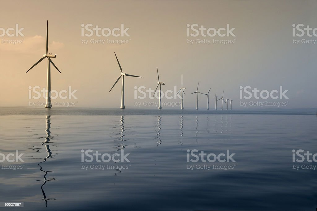 Windkraft royalty-free stock photo