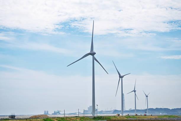 wind power station  – Foto