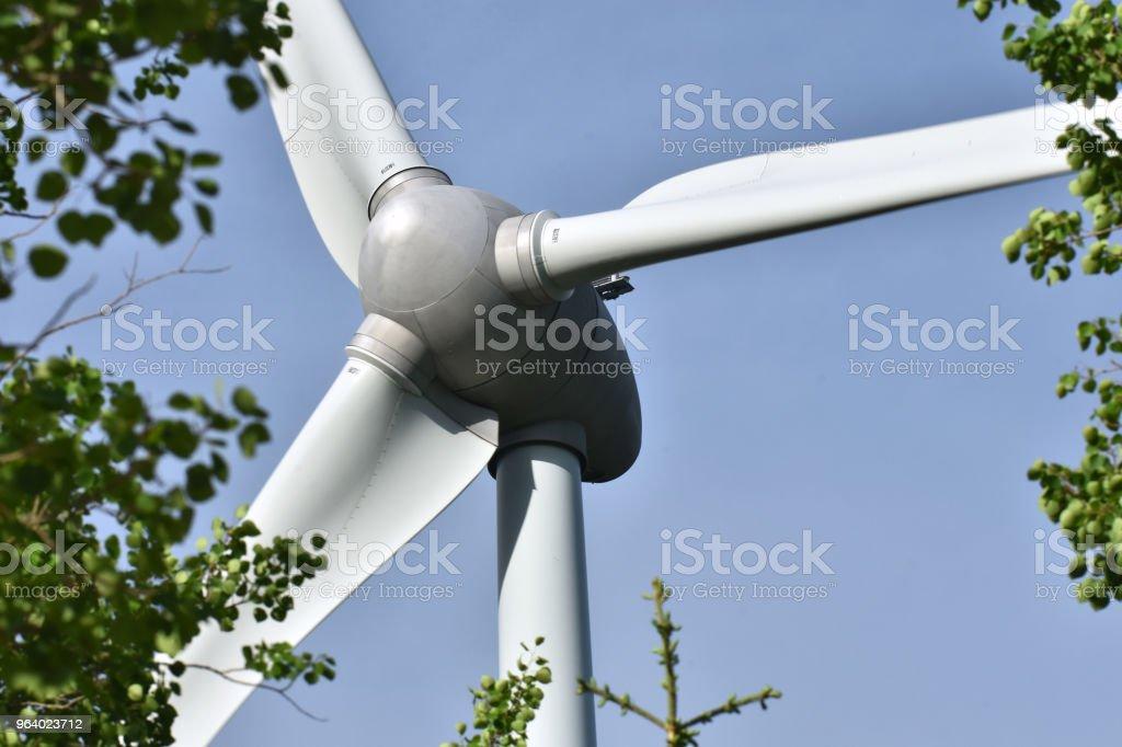 風力タービン - カナダのロイヤリティフリーストックフォト