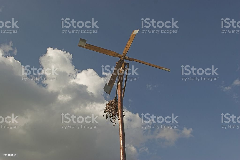 Wind Rattle royalty-free stock photo