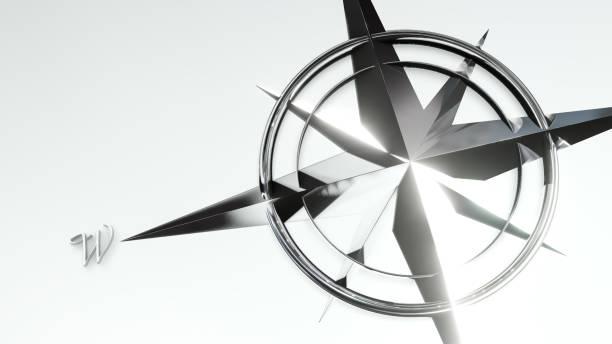 Wind Rose 3d illustration – Foto